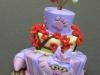 Alice in Wonderland set - Cheshire cat cake
