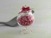 Candies in glass jar