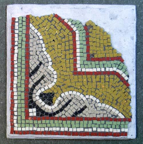 Broke Byzantine mosaic