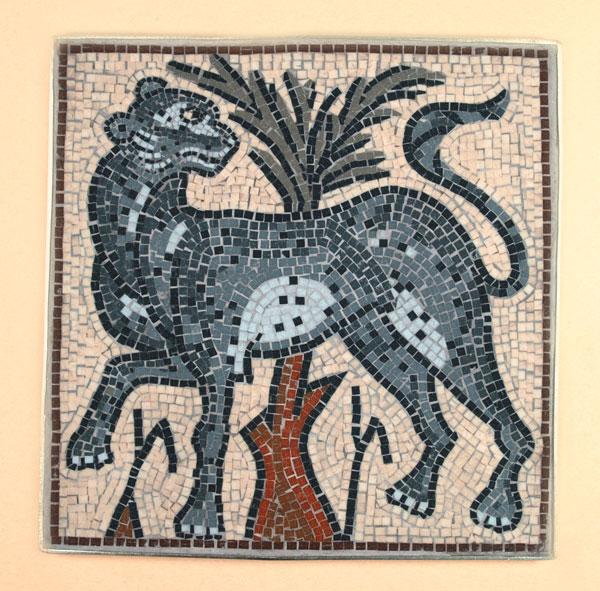 Cheetah mosaic