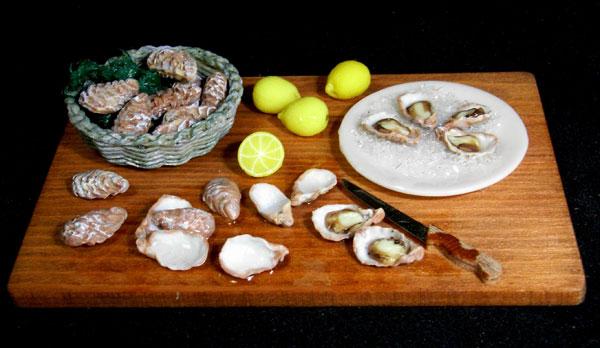 Oysters board